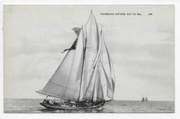 Fishermen Putting Out To Sea - Published Boston, Mass. - Sailing Vessels