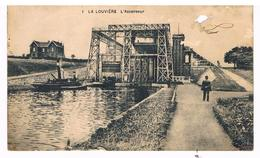 CPA : LA LOUVIERE  Ascenseur Et Péniches - La Louvière