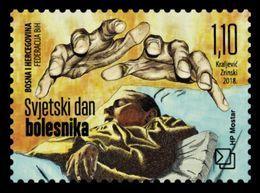 Bosnia And Herzegovina (Croatian) 2018 Mih. 478 Medicine. World Day Of The Sick MNH ** - Bosnia Erzegovina