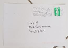FRANCE Montagne. Alpinisme. Flamme Illustrée L'ARGENTIERE LA BESSEE. 1995 - Timbres