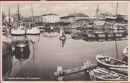 Denemarken Denmark Danmark Frederikshavn Havneparti 1946 Boat Vessel Fishing - Danemark