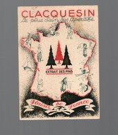 Calendrier 1938 CLACQUESIN Apéritif  (PPP14521) - Kalenders