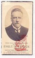 DP Foto - Ingenieur Emile DeClerck † Kortrijk 1930 X M. Renaux - Devotieprenten