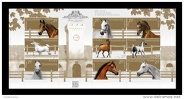 Poland 2017 Mih. 4917/25 Fauna. Horses. Janow Podlaski Stud MNH ** - 1944-.... Republik