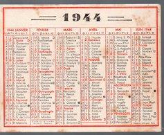Calendrier 1944 (aucune Indication Publicitaire ) (PPP14524) - Calendars