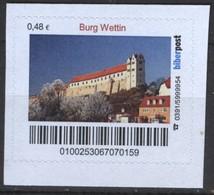 Biber Post Burg Wettin (48)  G495 - BRD