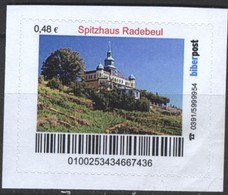 Biber Post Spitzhaus Radebeul (48)  G496 - BRD