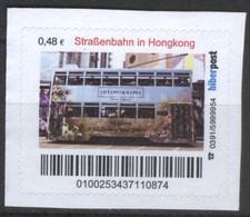 Biber Post Straßenbahn In Hongkong (Tram) (48)  G497 - BRD
