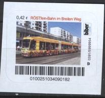 Biber Post Röstfeinbahn Im Breiten Weg (Tram) (42)  G498 - BRD