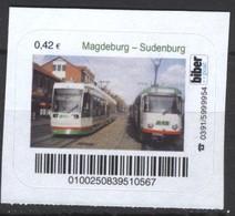 Biber Post Magdeburg - Sudenburg (Tram) (42)  G499 - BRD