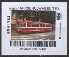 Biber Post Fahrschulwagen T4D (Tram) (45)  G500 - BRD