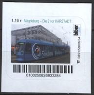 Biber Post Magdeburg - Die 2 Vor Karstadt (Tram) (1,16)  G501 - BRD