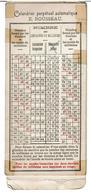 CALENDRIER PERPETUEL AUTOMATIQUE E. ROUSSEAU à Glissière - Calendrier Grégorien - RARE - VOIR SCANS - Calendars