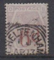Great Britain 1883 Queen Victoria 6P On 6P Used Ca Cheltenham (40192) - 1840-1901 (Victoria)