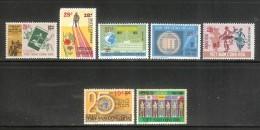 Lot Of 07 Different South Vietnam Viet Nam MNH Stamps 1974-1975 - High Catalogue Value - Vietnam