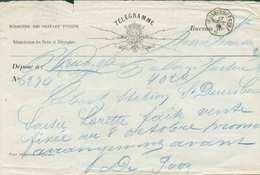 Télégramme Exp. Par Le Bureau (cachet Télégraphique) De St-DENIS-BOVESSE * Du 27 Sept. 1870. - B/TB - 15006 - Telegraph