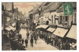 80 HAM CPA Fêtes Des 21 22 Et 23 Juin 1913 Cavalcade - Ham