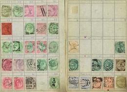 BOEK 6  LOT  ENGELSE KOLONIE'S IN RUILBOEKJE ZIE SCANS - Postzegels