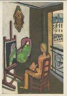 H. Matisse - Painting: Le Peintre - The Painter.Musee D`Art Moderne,Paris.   # 07900 - Paintings