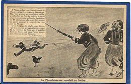 CPA Négritude Satirique Caricature Guerre 14-18 Patriotique Germany Kaiser Non Circulé Noisy Le Sec Ergé - Satirisch