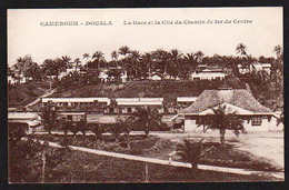 DOUALA (Cameroun) Bon Lot De 3 Cartes Neuves: L'hôtel Des Postes, La Gare, L'Hôtel De La Banque Française D'Afrique - Kameroen