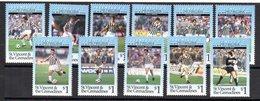 Serie Nº 2358/68 St. Vincent - Equipos Famosos