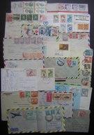 Amérique Du Sud Lot De 23 Lettres Et Cartes, Brasil Chile Panama Bolivia Uruguay  Etc, Voir Photos De Détail ! - Timbres