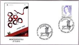 55 MOSTRA DEL CHIANTI. EMBOTELLADORA - BOTTLING MACHINE - Vino - Wine. Montespertoli, Firenze, 2012 - Vinos Y Alcoholes