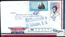 Venezuela 1982 Carmelitas A San Pedro De La Paz, Mal Encaminado A El Salvador. - Venezuela