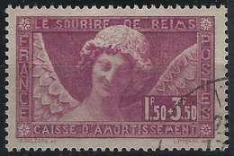 FRANCE Caisse D'amortissement 1930 N°256 Obl, Ange Du Sourire De Reims Superbe - Used Stamps