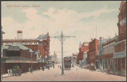 West Street Central, Durban, Natal, C.1910s - Rittenberg Postcard - South Africa