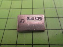 313j Pin's Pins / Beau Et Rare : Thème INFORMATIQUE / BULL CP8 - Computers