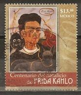 Mexico 2007 Frida Kahlo Obl - Mexico