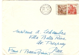 Suisse 1940 - Enveloppe De Genève, Exp.Lettres à Pau - Flamme Semaine Suisse, Produits De Qualité - Marcophilie