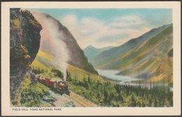Field Hill, Yoho National Park, British Columbia, C.1920s - Byron Harmon Postcard - British Columbia