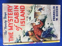 The Mystery Of Cabin Island, By Franklin Dixon - Children's