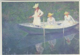 Painting: Claude Monet. 2 Cards.  # 07911 - Paintings