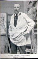 SCULPTURE  JULES DALOU 1838 -1902  PORTRAIT DE L'ARTISTE PHOTO GRAVURE - Artistes