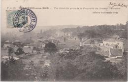 CPA B30  CARRIERES SOUS BOIS Vue Générale Prise De La Propriété Du Docteur PERRODON- Belle Vue - Otros Municipios