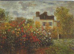 Painting: Claude Monet. Vetheuil.   # 07912 - Paintings