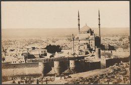 Vue Generale De La Citadelle, Le Caire, C.1910 - Cairo Postcard Trust RP Postcard - Cairo