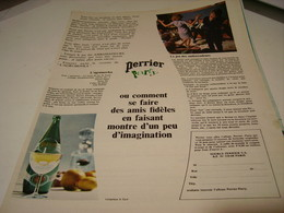 ANCIENNE PUBLICITE PERRIER PARTY 1965 - Posters