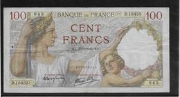 France - 100 Francs Sully - 30-1-1941 - Fayette N°26-45 - TB - 1871-1952 Antichi Franchi Circolanti Nel XX Secolo