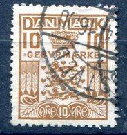 DANEMARK TIMBRES TAXE  YT N° 21 (3) - Port Dû (Taxe)