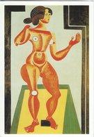 Painting: Joan Miro` Standing Nude 1921. H-1370 - Paintings