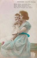 Fantasiekaart : Nederlands => Moederke Alleen..   ( Verstuurd In Veurne ) - Evénements