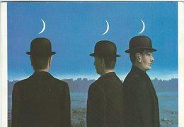 Painting: René Magritte - The Mysteries Of The Horizon. Used Denmark 1988.  # 07309 - Paintings