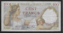 France - 100 Francs Sully - 10-7-1941 - Fayette N°26-55 - TB - 1871-1952 Antichi Franchi Circolanti Nel XX Secolo