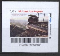 Biber Post Mt. Lowe Los Angeles (Mountain Rail) (45)  G504 - BRD