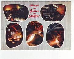 54. LONGWY . SIDERURGIE DU BASSIN DE LONGWY . MULTIVUES . Editeur LA CIGOGNE - Longwy